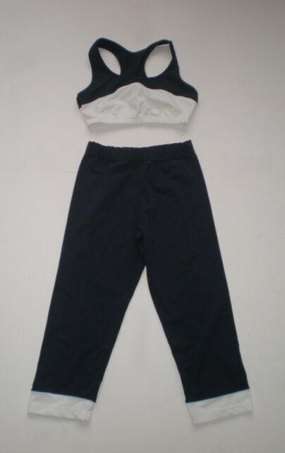 Dolce&Gabbana Athletic - Fitness Top und Hose, dehnbar, Größe S/M