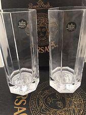 "VERSACE-ROSENTHAL ""medusa Lumiere"" set n.2 bicchieri long drink ART.48874"