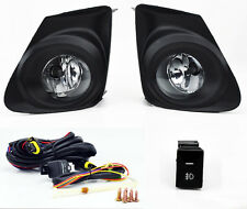 Toyota Corolla 11-13 JDM Front Bumper Fog Lights Lamps w/ Switch - Clear