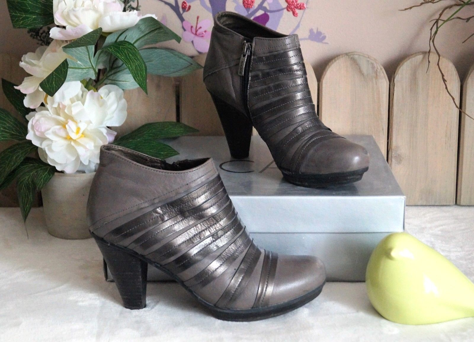 Chaussures Occasion Bottines en Cuir   Bocage  ... P   38