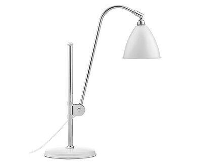 Table Lamp Light Chrome White