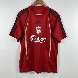 Liverpool-Football-Jersey-Mens-Size-Medium-Adidas-2008-2009-Era-Carlsberg