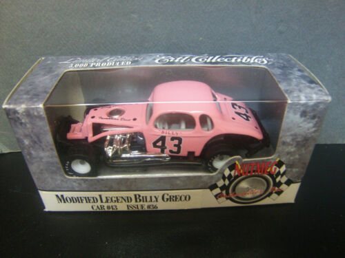 Billy Greco #43 Riverside Park Legend Pink Modified Coupe 1//64