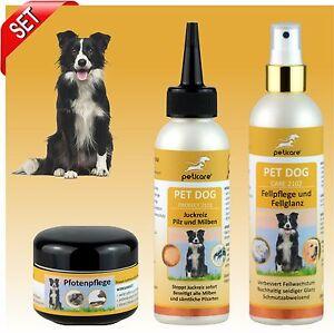 Démangeaisons, champignons et acariens - Soins des pattes Peticare® Set Dog