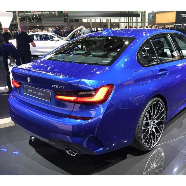 Carbon Fiber For BMW G20 4DR Sedan 5 Series V-Look Rear