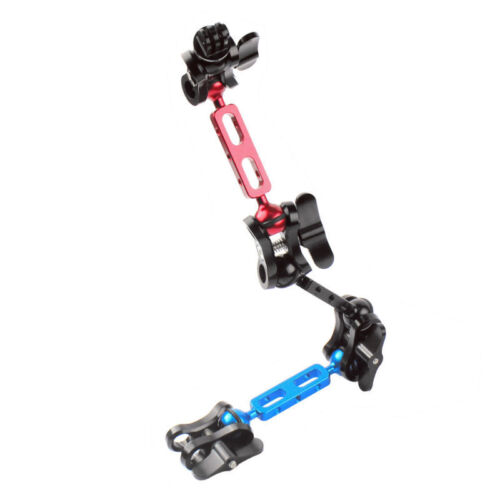 3 Sections Diving Lights Arm Ball Clip Mount Set for Camera Gopro Hero4