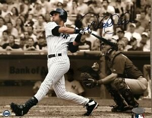 Derek Jeter Signed 8x10 Photo Autograph, Steiner COA