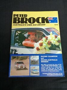 SIGNED-Peter-Brock-Australia-039-s-Ace-Driver-Magazine-1979-Ray-Bell-Barry-Lake-A