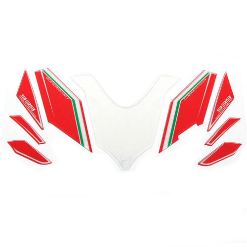 3D Gel Complete Fairing Pad Decal Sticker For Ducati Supersport 939 2016 2017