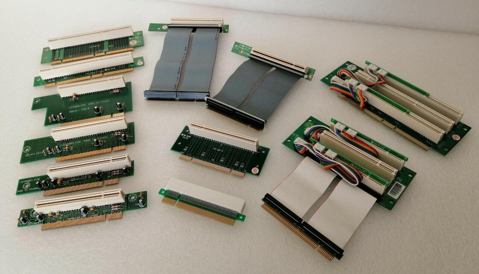 - 1x and 3x Slots PCI Riser Card 3.3V / 5.0V / 32Bit / 64Bit