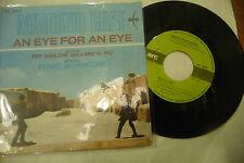 """ENNIO MORRICONE/MAURIZIO GRAF""""AN EYE FOR AN EYE-disco 45 giri RCA It1967""""OST"""