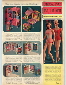 1968-PAPER-AD-Doll-Barbie-Stacey-Francie-Casey-Twist-039-N-039-Turn-Bendable-Legs