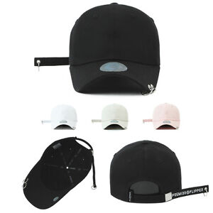 Details about Unisex Mens Womens Flipper 2 Rings Long Tail Strap Baseball  Cap Trucker Hats 8eb9b397f44