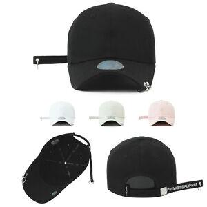 Details about Unisex Mens Womens Flipper 2 Rings Long Tail Strap Baseball  Cap Trucker Hats 2bcba00346b