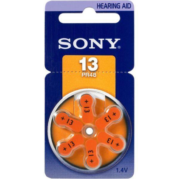90 x Sony Hörgerätebatterien Typ 13 Blister P13 ac13 DA13 PR13H 310mAh | Bestellungen Sind Willkommen