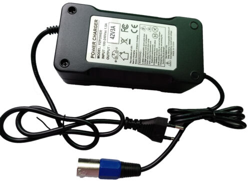 Roller Ladegerät 42V 3A für Batterie 36V 10AH für E-Bike Pedelec Elektrofahrrad