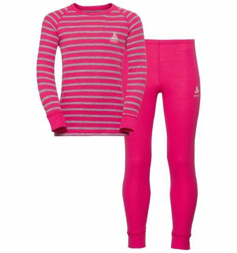 Odlo Kinder Set active warm 150409 Sportunterwäsche purple *UVP 44,99