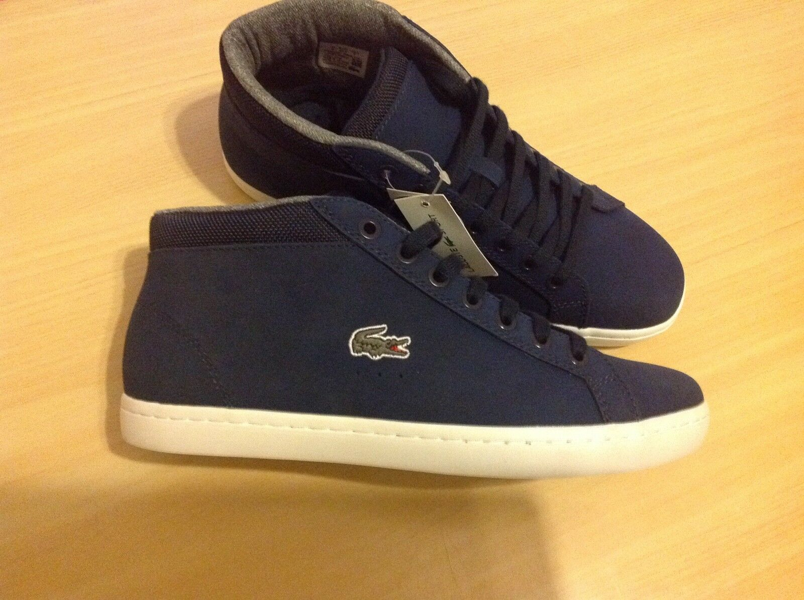 19a8d20fb Chukka Tamaño Zapatillas Straight Set Lacoste 6 Men s T6APqHA
