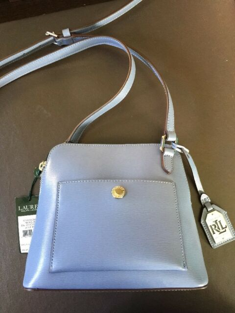 debf96beb5 Lauren Ralph Lauren Womens Blue Mist Newbury Bailey Dome Crossbody for sale  online