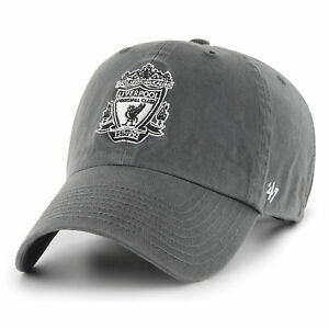 47 BRAND NEW Mens Grey EPL Liverpool FC Clean Up Cap BNWT ... 234d3a3440a