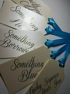 Details About Something Old Something New Something Borrowed Something Blue Tags