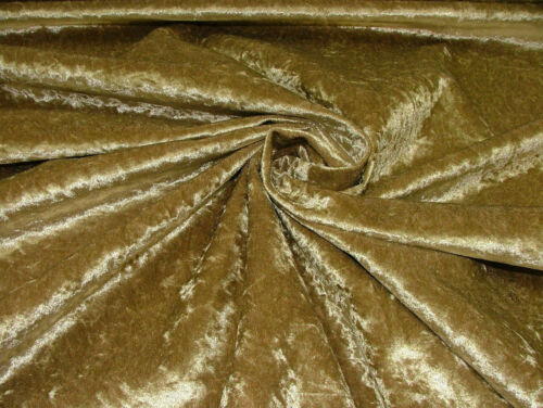 Crushed Velvet Upholstery Fabric With Backing by the metre perfect for curtains