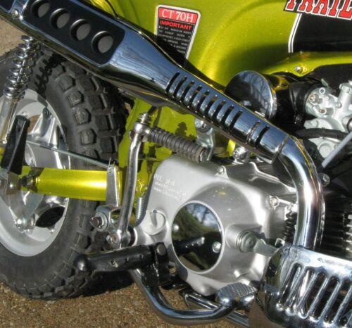 HONDA CT70H OEM  Chrome Clutch Cover Kit  ** New Honda Parts ** See Description