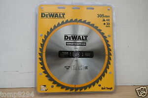 DEWALT-DT1959-DT1161-305MM-x-30MM-48T-TCT-TABLE-MITRE-SAW-BLADE-12-PENCILS