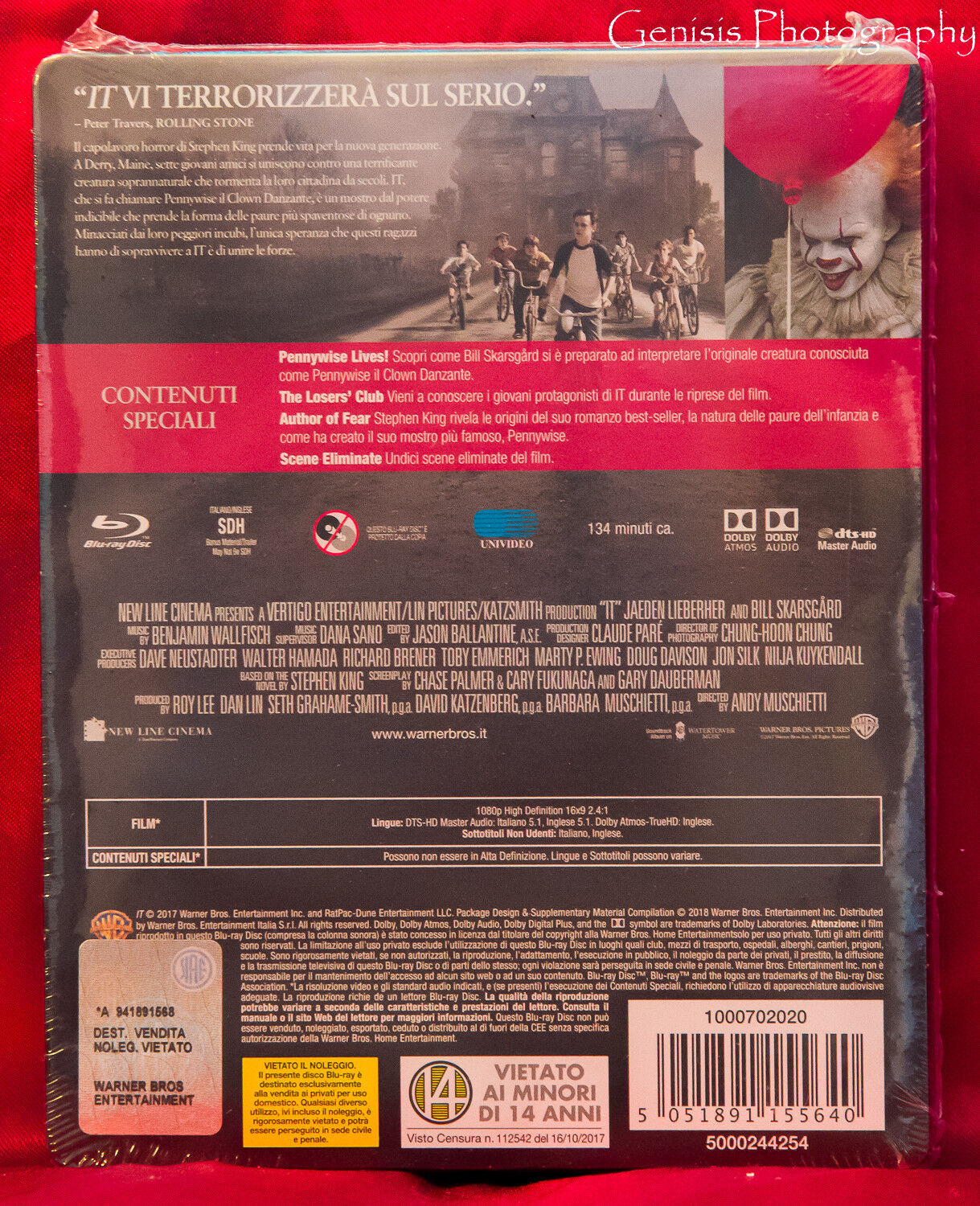 It Blu Raydvd Steelbook Only Best Buy Ebay