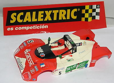 Elektrisches Spielzeug Delicious Scalextric Karosserie Ferrari 333 Sp #5 24h.le Mans 1998 Mint As Effectively As A Fairy Does