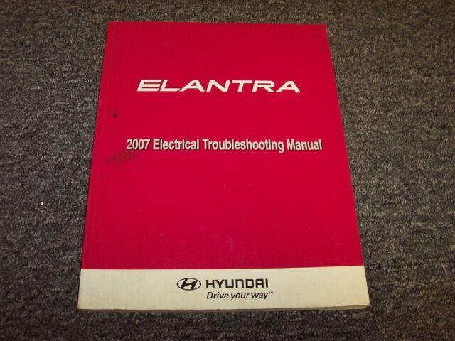 2007 Hyundai Elantra Electrical Wiring Diagram Manual Book Se Gls Limited 2 0l