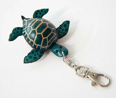 Sea Turtle Fabric Key Fob