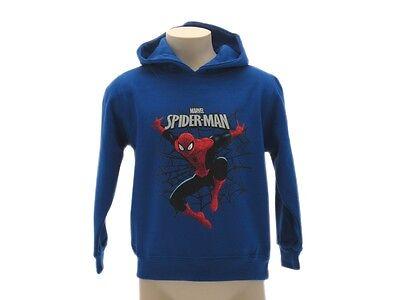 Sunny Felpa Spiderman Marvel Ragnatela Bambino Blue Royal Maglia Originale Nuovo Firm In Structure T-shirt E Maglie Abbigliamento E Accessori