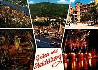 Grüsse aus Heidelberg , Ansichtskarte , gelaufen