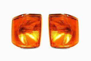 Land-Rover-Discovery-94-98-Orange-Clignotants-avant-Set-Paire-Gauche-Droit
