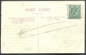 GREAT-BRITAIN-SQUARED-CIRCLE-CANCEL-034-CHESTER-STATION-OFFICE-034-ON-POSTCARD