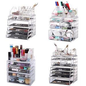 Acryl-Kosmetikbox-Kosmetikorganizer-MakeUp-Aufbewahrung-Beauty-Schubladenbox