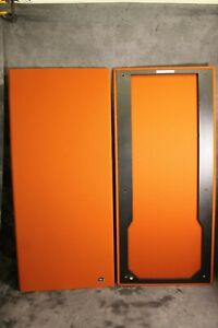 Two-New-JBL-L222-Disco-Speaker-Grilles-15-Fabric-Color-Choices-New-JBL-Badges