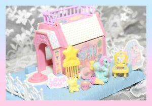 ❤️My Little Pony G1 Vtg PETITE Whinny Winks Inn Playset House Cottage & PONY❤️