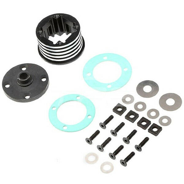 Losi LOS252066 Differential Housing Set Aluminum (1)   DBXL-E   garanzia di qualità