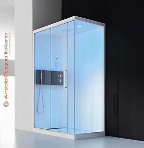 Cabina Doccia Multifunzione 70x100.Cabina Box Doccia Multifunzione Hafro Soul 70 80 90 X 100 120 140 Ebay