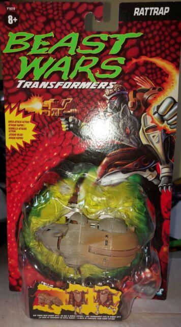 Transformers Beast Wars Deluxe Rattrap Vintage Reissue 2021 Exclusive