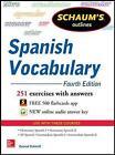 Schaum's Outline of Spanish Vocabulary by Conrad J. Schmitt (Paperback, 2013)