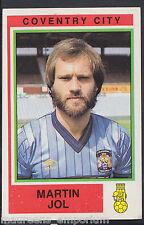 Panini Football 1985 Sticker - No 66 - Coventry City - Martin Jol