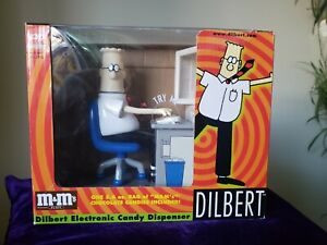 Dilbert Electronic Candy M & M Dispenser #4725 Novelty Desk Accessory Gag Gift | eBay
