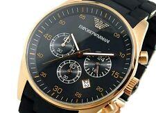 New EMPORIO ARMANI Mens Watch AR5905 Certificate + Original Box black UK fast