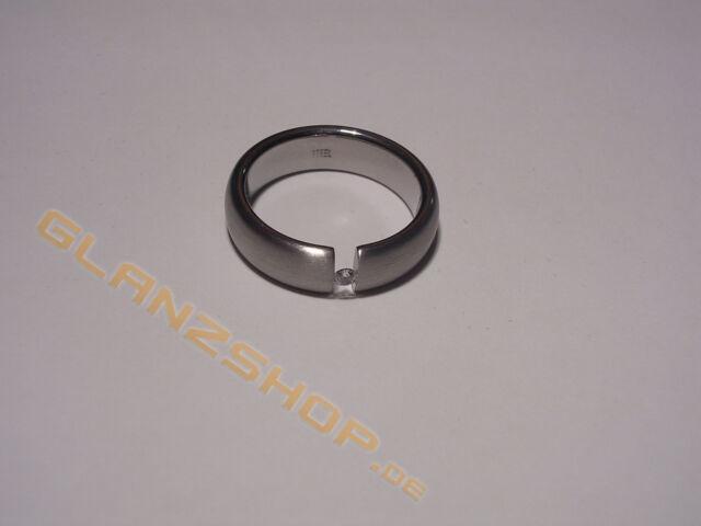 Tom Tailor Damenring Edelstahl Ring TT01524 Besatz weiß 20,5 / 205 / 64 rar NEU