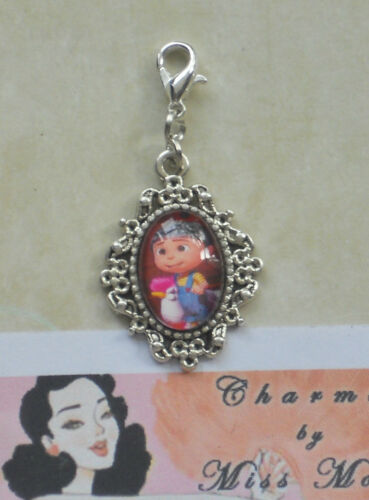**DESPICABLE ME** Beautiful Glass Encased Picture Charms *BUY 2 GET 1 FREE!*