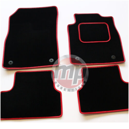 Perfecto Alfombra Negra Coche Tapetes adaptado para Vauxhall Corsa B//TIGRA Manual