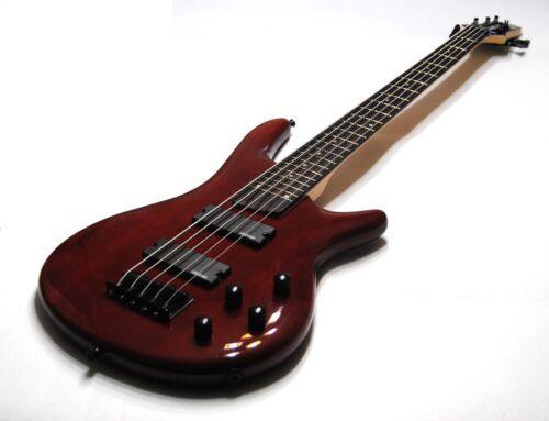 5 strings Clandestine electric bass Bajo eléctrico Clandestine de 5 cuerdas